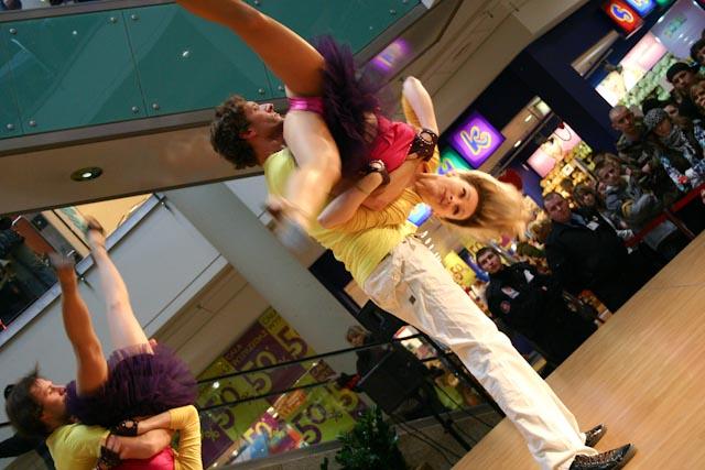 UDZ - Tańcz w Wielkim mieście! Z miłości do tańca - pokazy w Galerii Łódzkiej