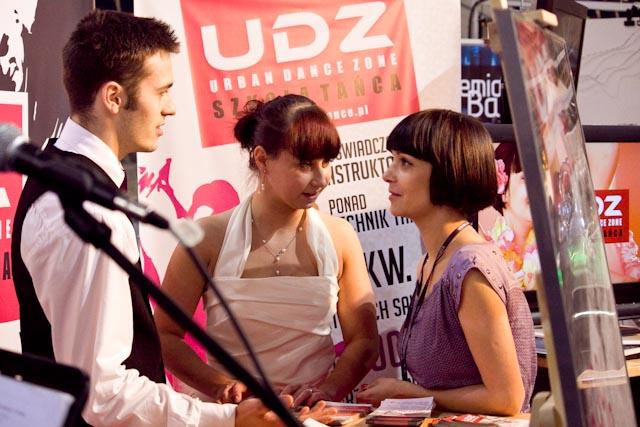 UDZ - Tańcz w Wielkim mieście! UDZ na Targach Ślubnych w łódzkiej Arenie - 31.01.2010
