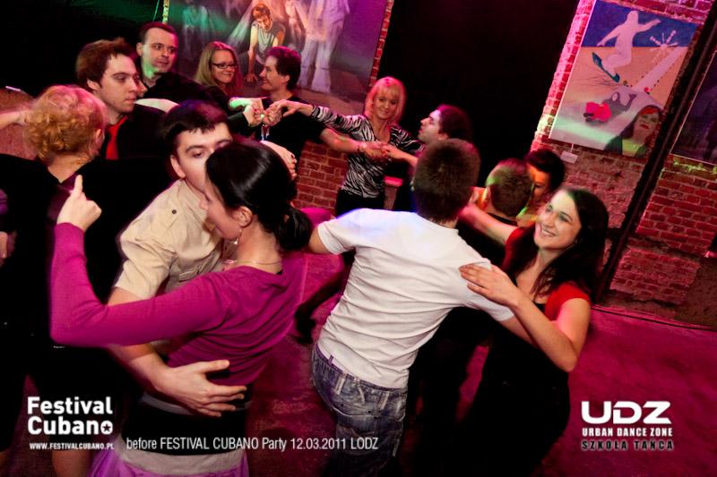 UDZ - Tańcz w Wielkim mieście! Salsa Kubańska w starej fabryce! Relacja z imprezy 'before Festival Cubano'
