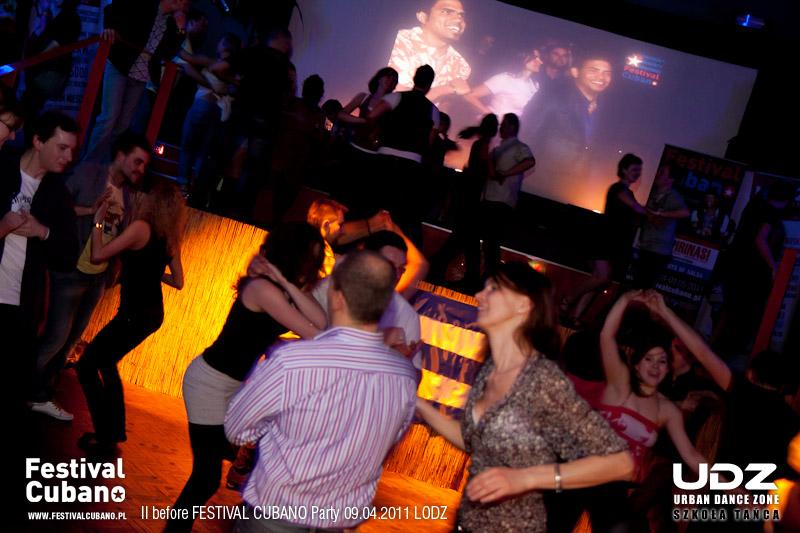 UDZ - Tańcz w Wielkim mieście! before Festival Cubano Party w kolorze BLU - 09 kwietnia