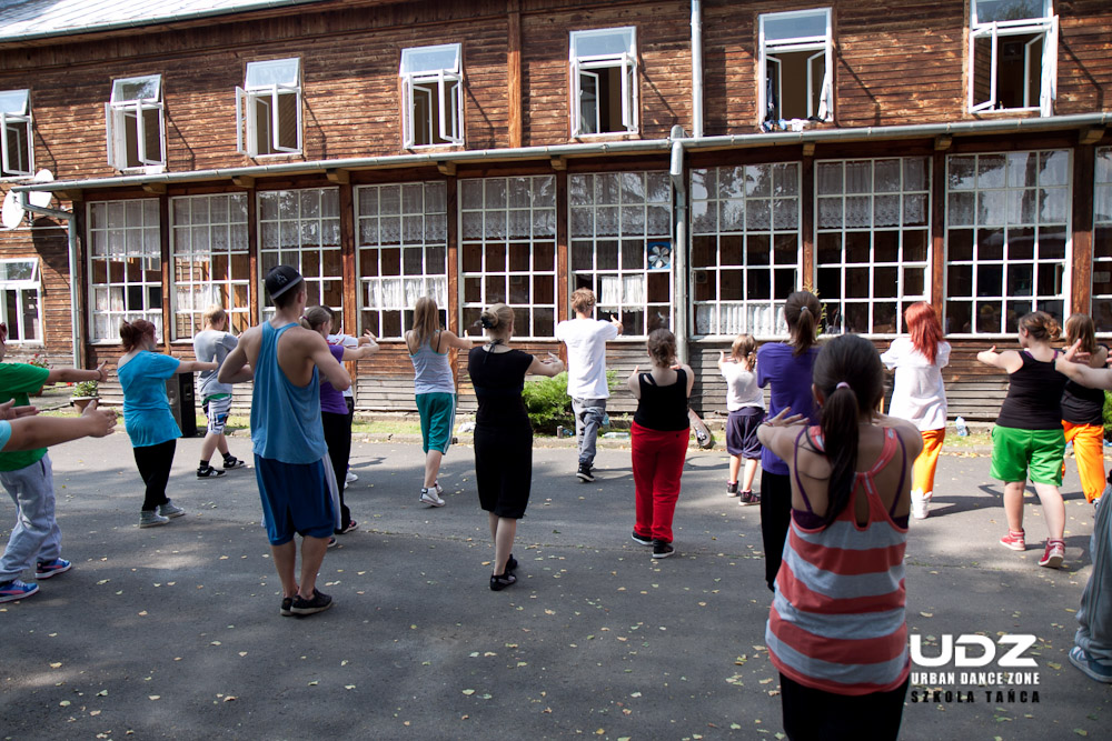 UDZ - Tańcz w Wielkim mieście! Obóz UDZ w Zwierzyniu - Relacja