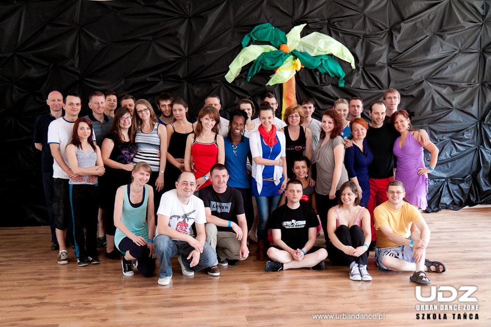 UDZ - Tańcz w Wielkim mieście! Kizomba i Helio Santos w Łodzi. Warsztaty Kizomby 27.05.2012