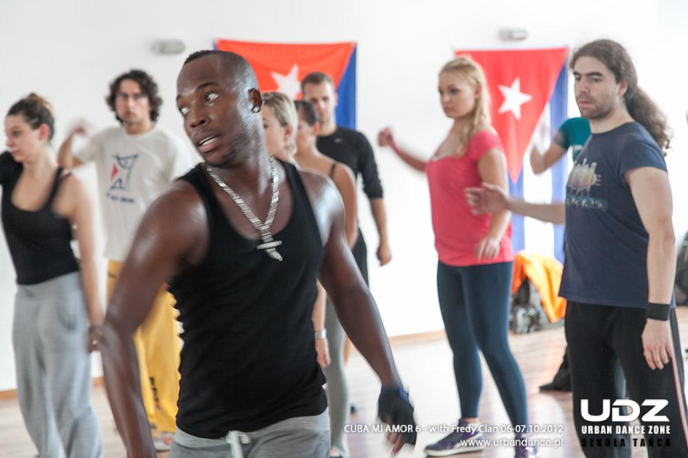 UDZ - Tańcz w Wielkim mieście! Cuba mi Amor 6! Relacja z Kubańskiech Warsztatów z FREDYCLAN GARCIA BATISTA 06-07.10.2012