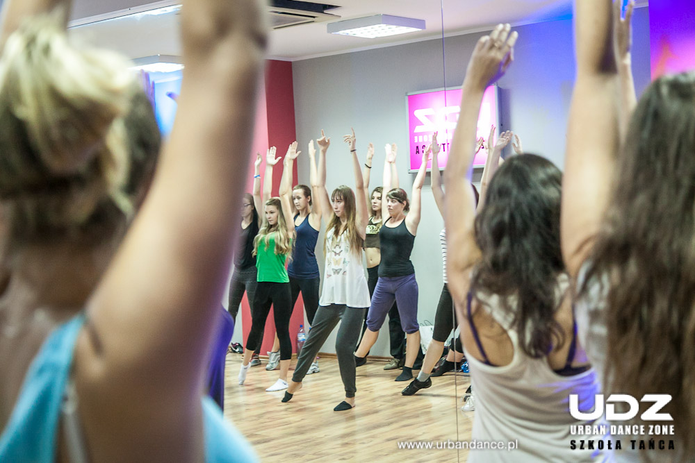 UDZ - Tańcz w Wielkim mieście! Relacja - Dni Otwarte, wrzesień 2013r