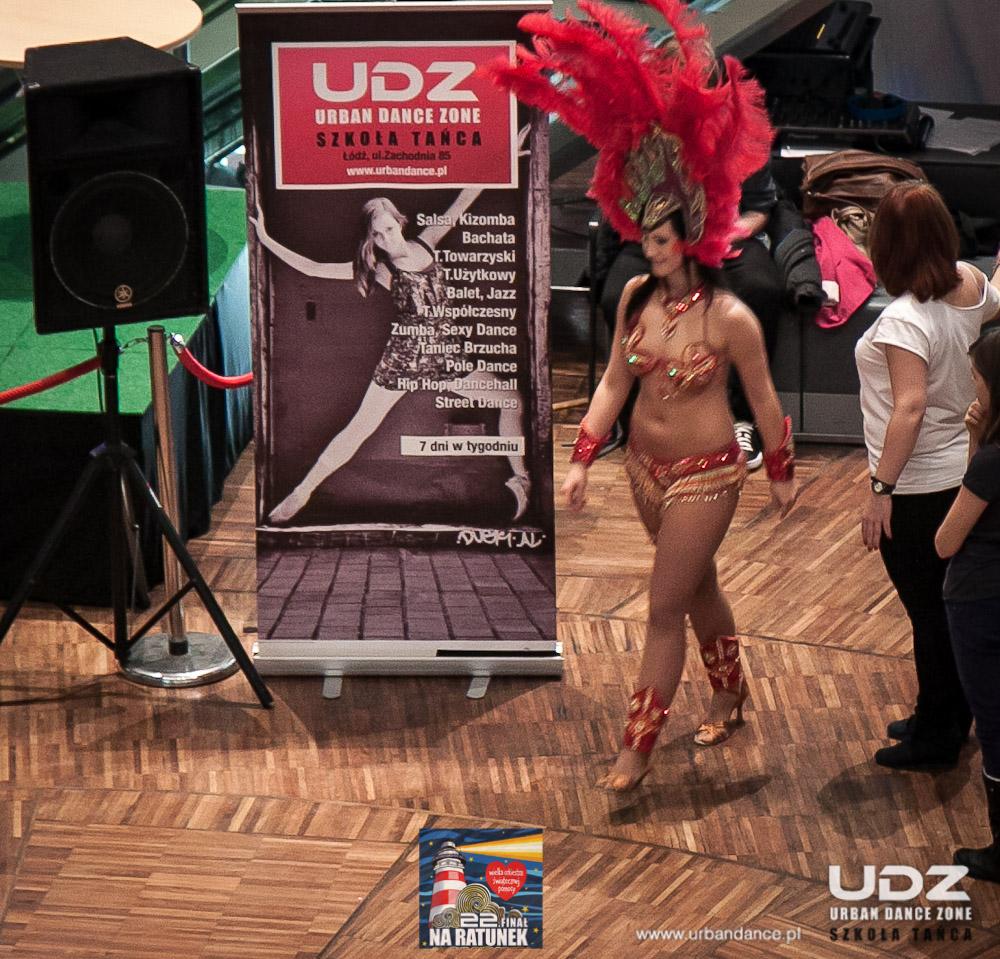 UDZ - Tańcz w Wielkim mieście! 22 Finał WOŚP w Manufakturze, z UDZ.