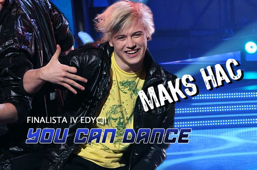 Maks Hać w You Can Dance YCD